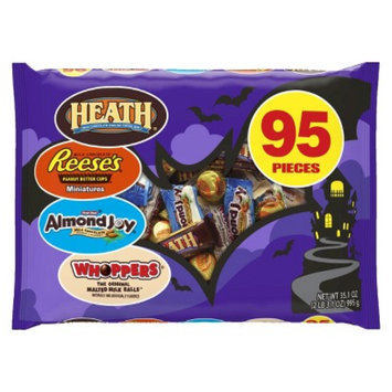 Hershey's Foods Corporation Reese Peanut Butter Cups, Almond Joy, Whoopers & Heath Snack Size