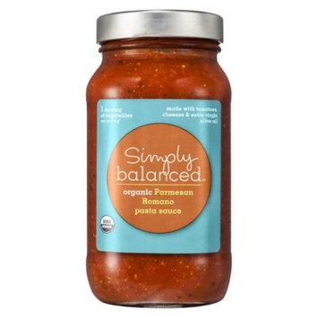 Simply Balanced Organic Parmesan Romano Pasta Sauce 24 oz