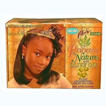 Vitale Princess By Nature Olive Oil Relaxer - Regular Kit