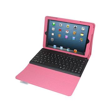 2cool iPad mini Case with Detachable Bluetooth Keyboard - Pink Via Ergoguys