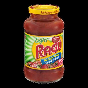 Ragu Light Tomato & Basil No Sugar Added Pasta Sauce