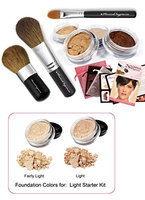 Mineral Hygienics Mineral Makeup Starter Kit - Light
