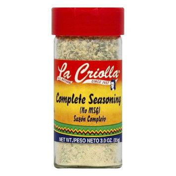La Criolla 3 oz. Complete Seasoning Case Of 12