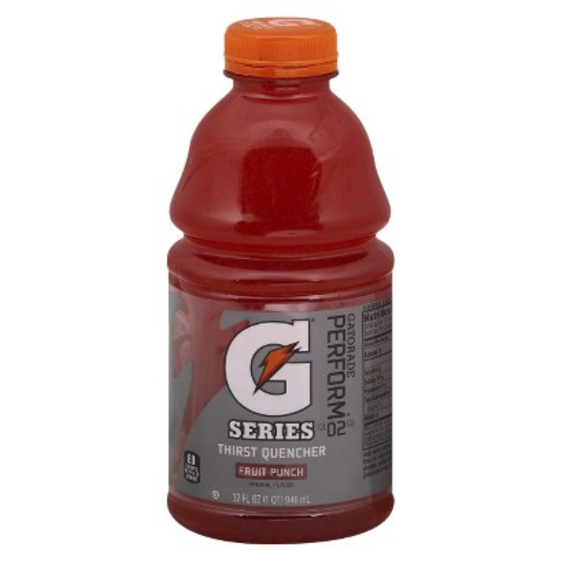 Gatorade Fruit Punch Sports Drink 32 oz