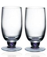 Denby Glassware, Set of 2 Amethyst Highball Glasses