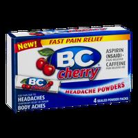BC Headache Powders Cherry - 4 CT