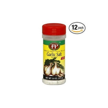 Fancy Pantry Garlic Salt CA Style, 3.8-Ounce (Pack of 12)