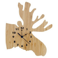 Northwoods Moose Clock by Trend Lab