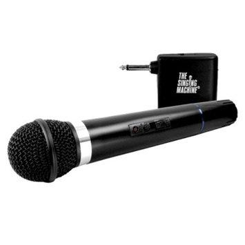 The Singing Machine Dynamic VHF Wireless Microphone - Wireless