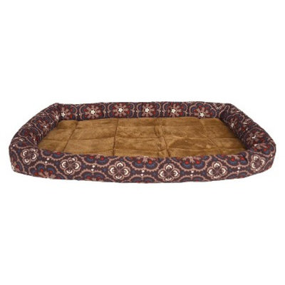 Boots & Barkley DOG BOLSTER BB CRATE MAT 28.5x18.5