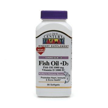 21st Century Fish Oil + D3