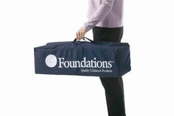 FOUNDATIONS 1455037 Crib Carry Bag, Nylon, Blue