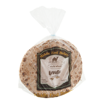 Middle East Bakery Lavash Whole Wheat - 4 CT