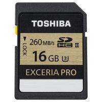 Toshiba 16GB Exceria™ Pro SD Memory Cards (UHS-II U3)