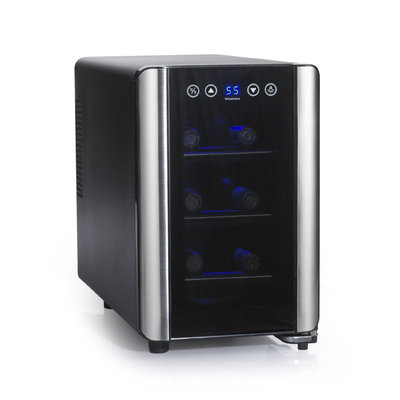 Wine Enthusiast Silent 6-Bottle Touchscreen Wine Refrigerator