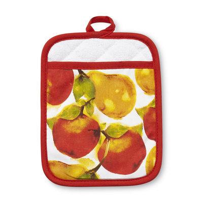 Franco Manufacturing Essential Home Pot Holder Mitt - Apple/Pear