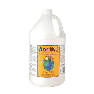 Earthbath Orange Peel Oil Concentrated Shampoo, 1-Gallon