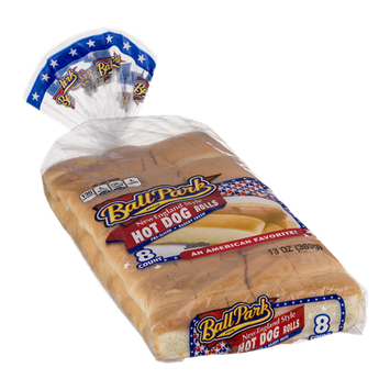 Ball Park New England Style Hot Dog Rolls - 8 CT