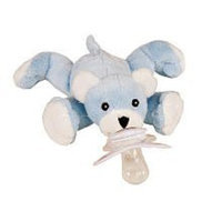 Paci Plushies Bentley The Bear Pacifier
