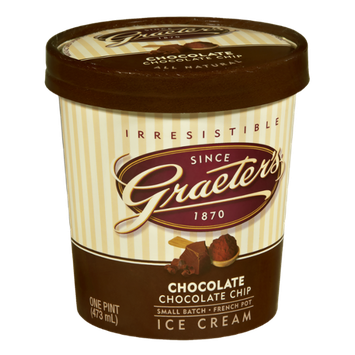 Graeter's Chocolate Chocolate Chip Ice Cream