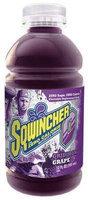 SQWINCHER 030922-GR Sports Drink, Liquid, Grape,12 oz, PK24