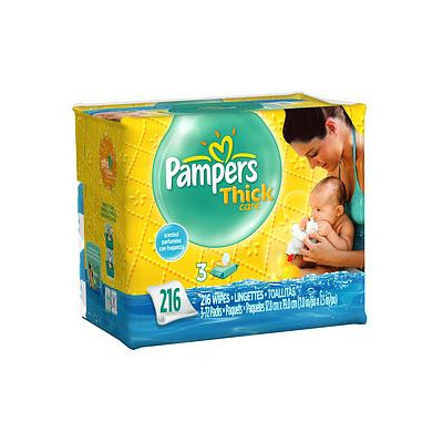 Pampers ThickCare Wipes