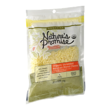 Nature's Promise Organics Organic Shredded Mexican Blend Cheese