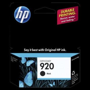 Hewlett Packard Hewlett-Packard CD971AN HP 920 Ink Cartridge 420 Page Yield Black
