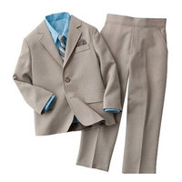 Arrow Boys 4-Piece Solid Suit Set - Size 6