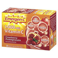 Emergen-C 1000 mg Vitamin C, Cranberry Pomegranate