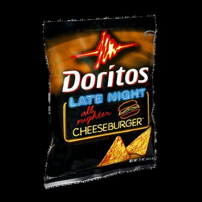 Doritos® Late Night Cheeseburger Flavored Tortilla Chips