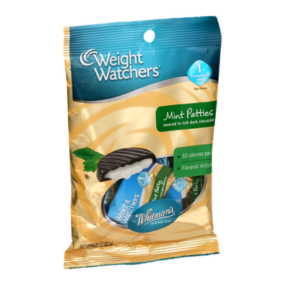 Weight Watchers Whitman's Candies Mint Patties