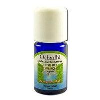 Oshadhi - Essential Oil, Thyme, Mild (Thuyanol), Organic, 3 ml