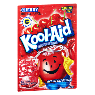 Kool-Aid Cherry Caffeine Free Unsweetened Soft Drink Mix