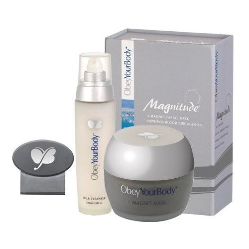 Obey Your Body Dead Sea Magnitude Kit - Magnetic Mask + Cleanser Milk + Magnet Block