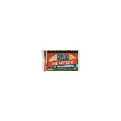 Lundberg Short Grain Brown Rice, 1-pounds (Pack of12)