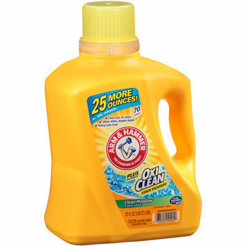 Arm & Hammer Plus Oxi Clean Stain Fighters Clean Meadow Liquid Laundry Detergent