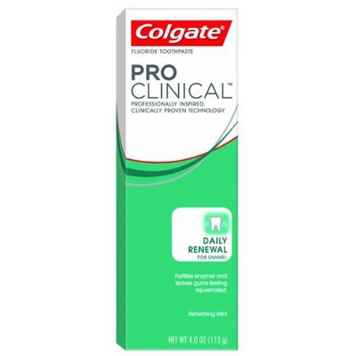 Colgate® PRO CLINICAL™ DAILY RENEWAL FOR ENAMEL Toothpaste Refreshing Mint
