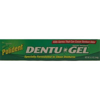 Polident Dentu-Gel Toothpaste, Triple Mint 5.1 oz (144 g)