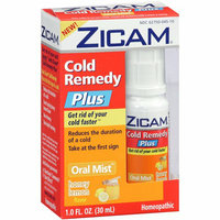 MISC BRANDS Zicam Honey Lemon Cold Remedy Plus Oral Mist
