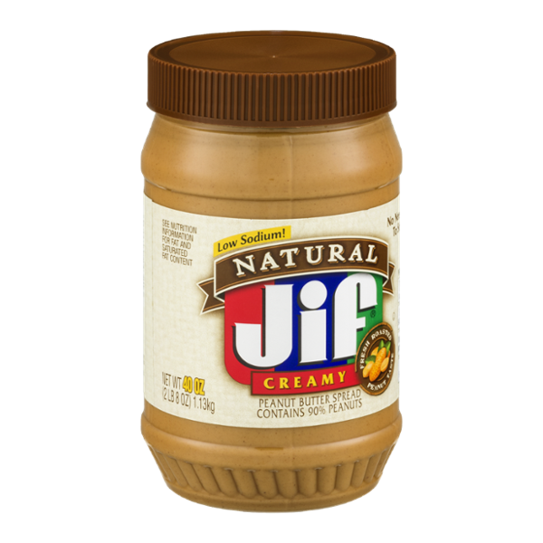 Jif Natural Peanut Butter Spread Low Sodium