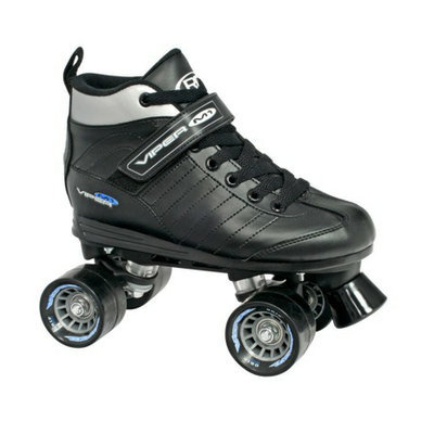 Roller Derby Men's  Viper Speed Quad Skate - Black (6)
