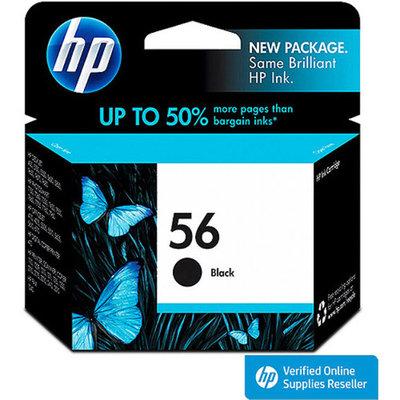 HP 56 Printer Ink Cartridge - Black (C6656AN#140)