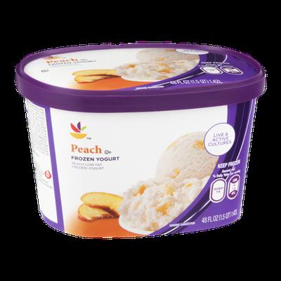 Ahold Frozen Yogurt Peach