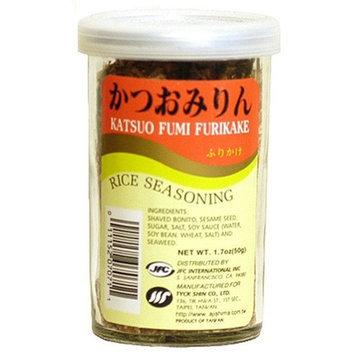 JFC Katsuo Fumi Furikake Rice Seasoning, 1.7-Ounce Jars (Pack of 4)