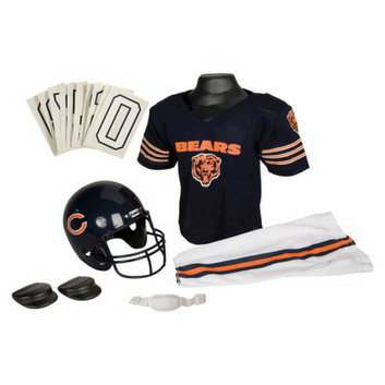 Franklin Sports NFL Bears Deluxe Uniform Set - Small