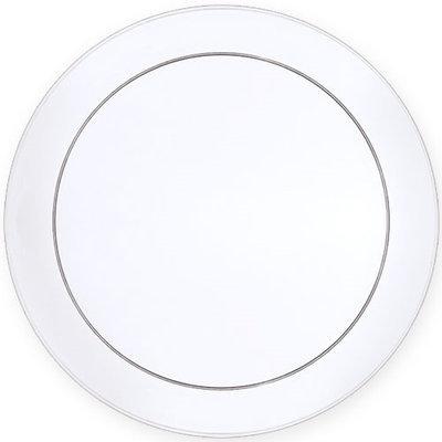 King Zak Ind Lillian Tablesettings 13294 D'Vine 9 in. Buffet Plate Clear Buffet - 360 Per Case