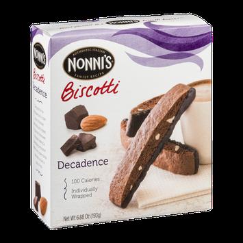 Nonni's Biscotti Decadence