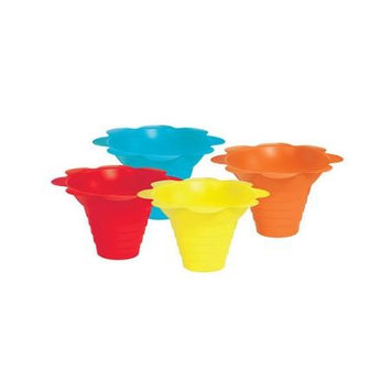 Paulmann Lighting Paragon International Flower Sno Cone Drip Cup Set Of 100 Size 8 Oz HHK0N1BSW-0408