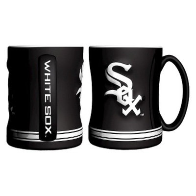 Boelter Brands MLB White Sox Set of 2 Relief Coffee Mug - 14oz